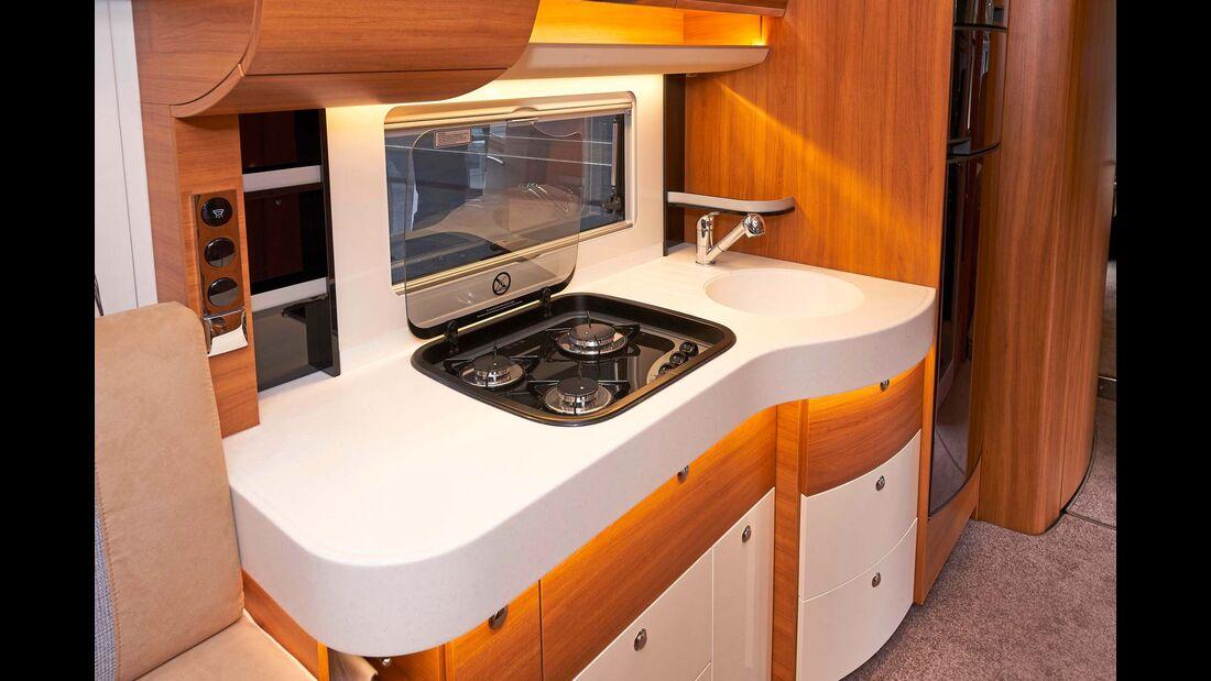 Premiere Concorde Carver 791 RL Küche