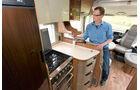 Premiere: Hymer Hymer Premium Line, Küche