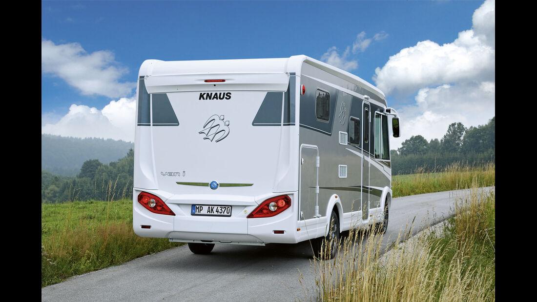 Premiere: Knaus Van I, News