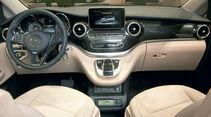 Premiere: Mercedes Marco Polo, Cockpit