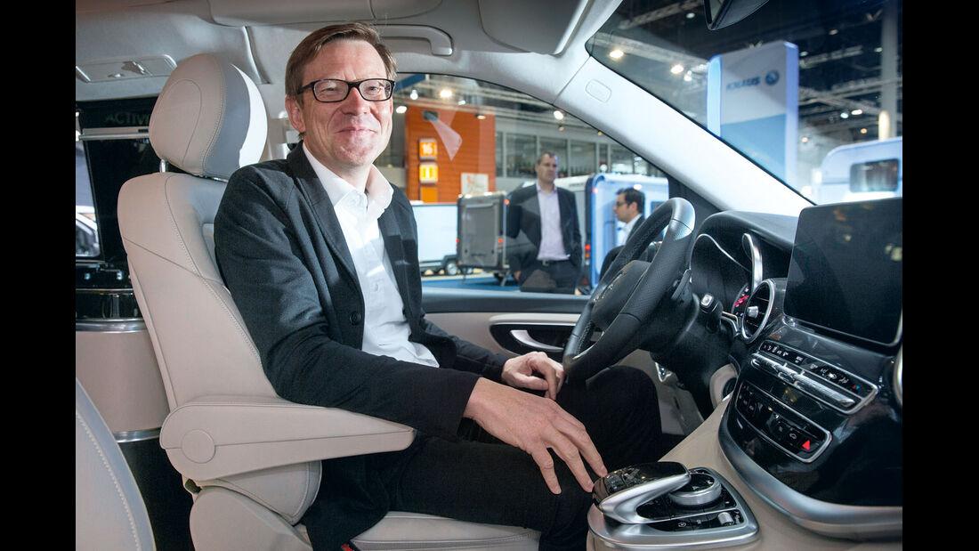 Premiere: Mercedes Marco Polo, Klaus Maier