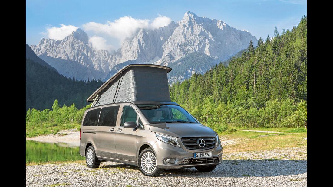 Premiere: Mercedes Marco Polo, Schlafdach