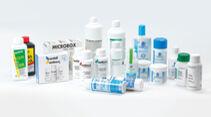 Produkte zur Tankreinigung und Desinfizierung