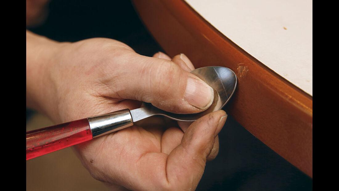 Profi-Tipp: Möbelkanten reparieren