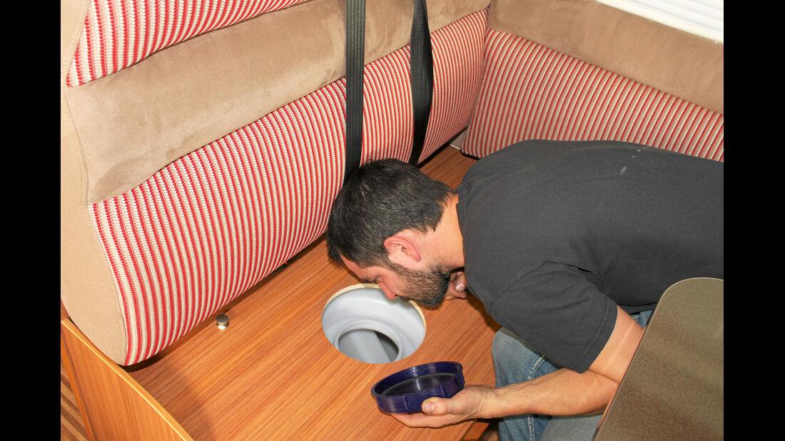 Profi-Tipp: Wassertank tauschen