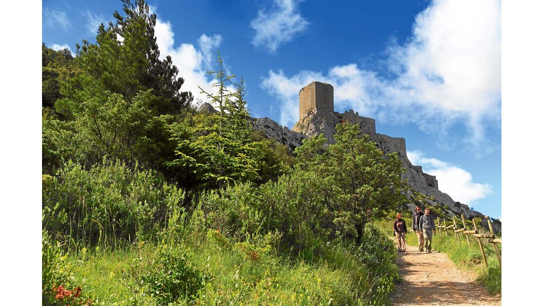 Quéribus – letzte Fluchtburg der Katharer im Languedoc