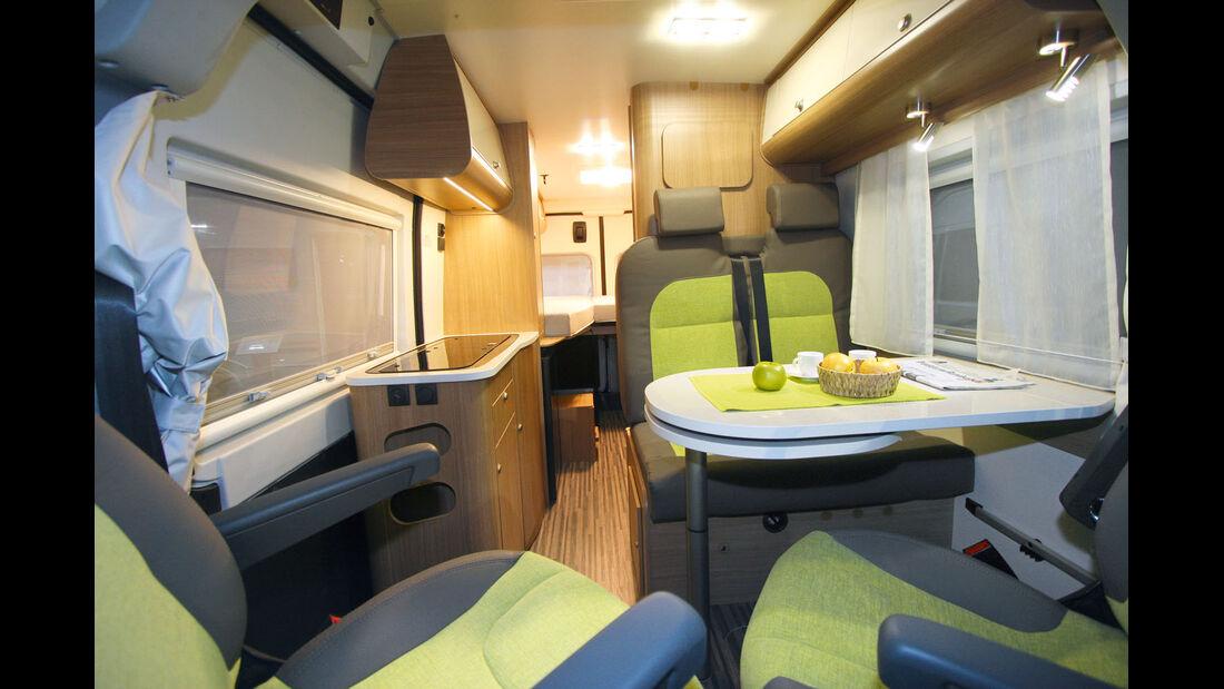 Querbett Campingbusse