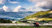 Radpause Albanien