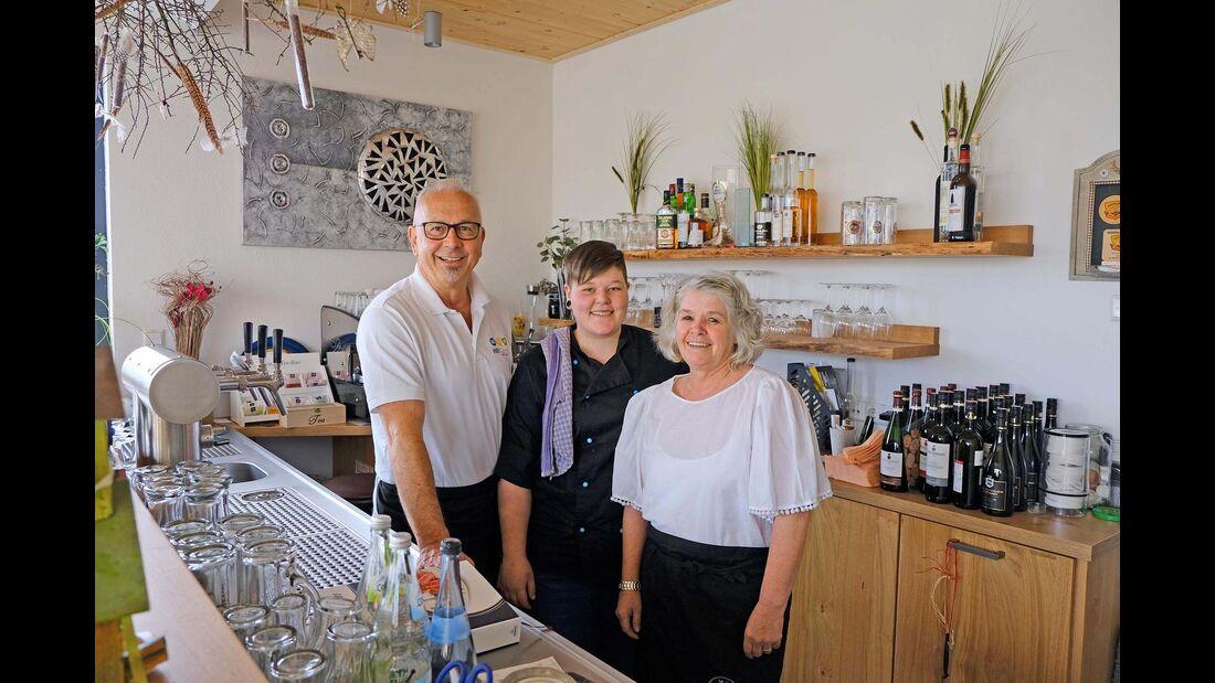 Rainer Heidemann, Franziska und Gabriele Süß