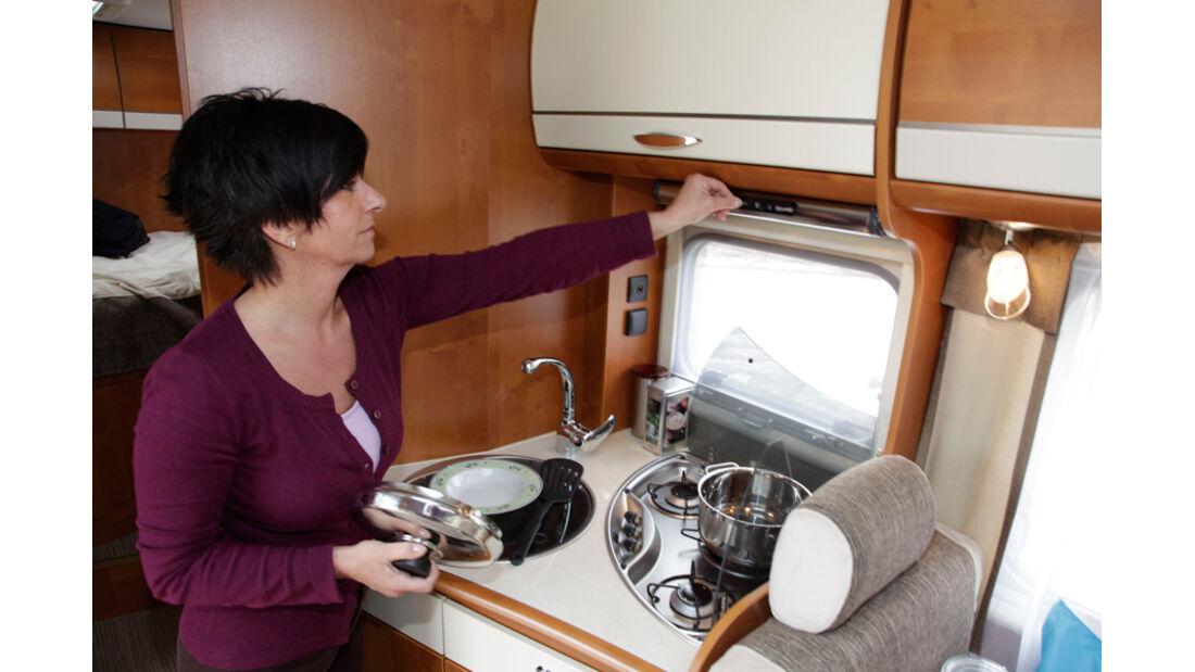 Rapido 643 F Küche