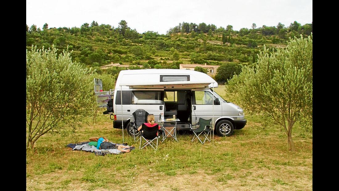 Ratgeber: Carsharing, VW T4