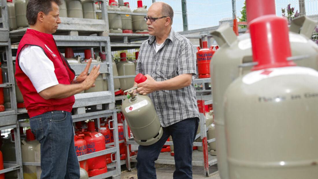 Ratgeber: Gas im Ausland