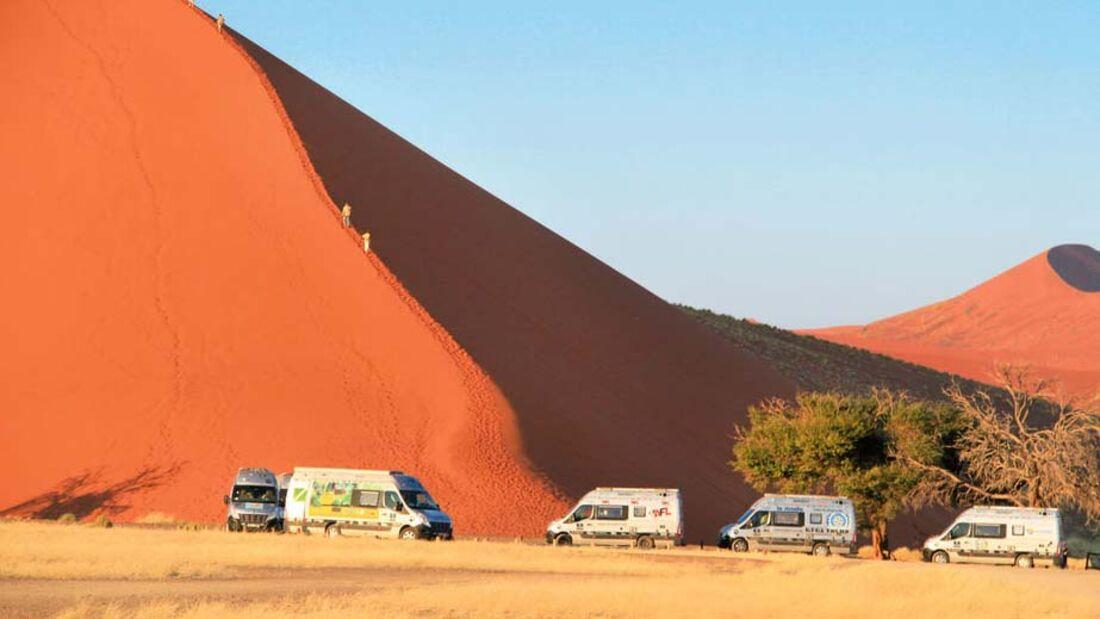 Ratgeber: Geführte Reisemobiltouren, Afrika