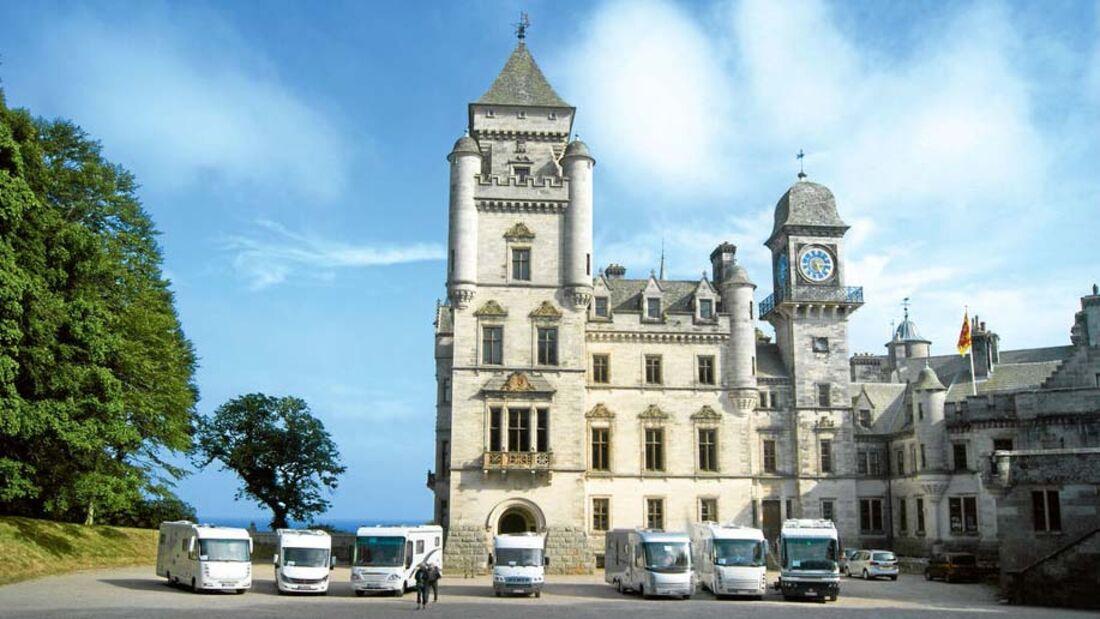 Ratgeber: Geführte Reisemobiltouren, Großbritannien, Irland, Island, Färöer