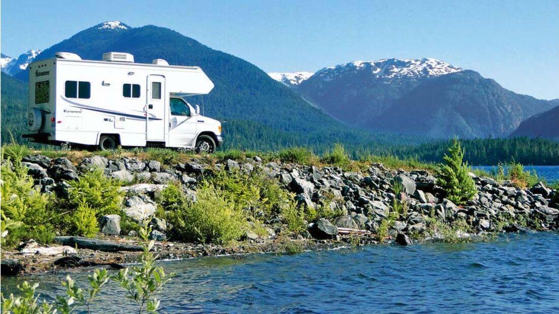 Ratgeber: Geführte Reisemobiltouren, Kanada