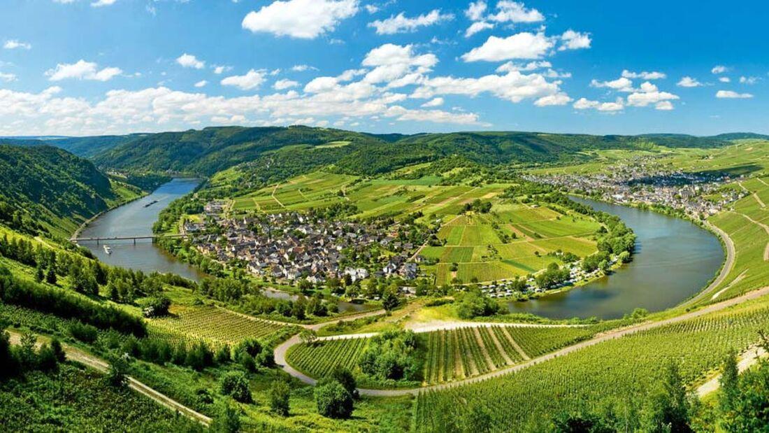Ratgeber: Geführte Reisemobiltouren, Mitteleuropa