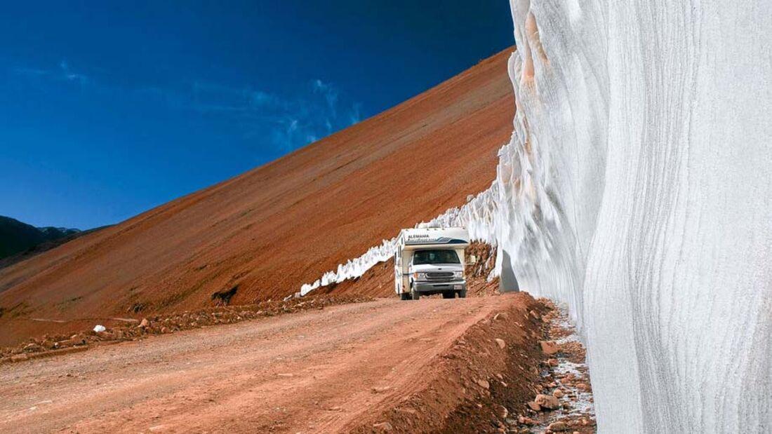 Ratgeber: Geführte Reisemobiltouren, Südamerika