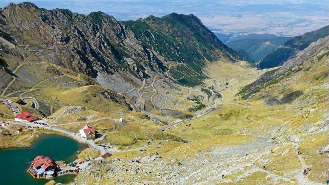 Ratgeber: Geführte Reisemobiltouren, Transsilvanischen Alpen