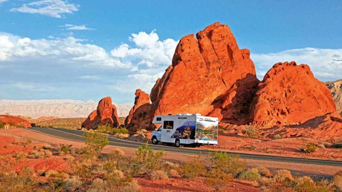 Ratgeber: Geführte Reisemobiltouren, Wilde Westen