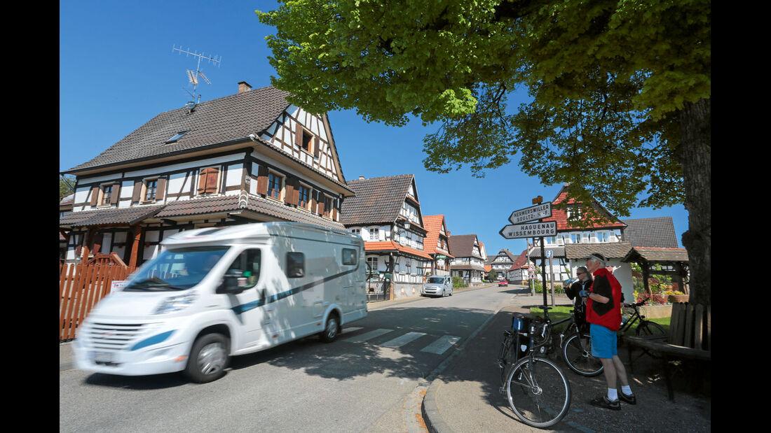 Ratgeber: Mobil-Tour Elsass, Fachwerkbauten