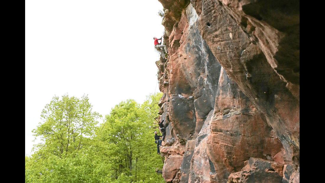 Ratgeber: Mobil-Tour Elsass, Klettern