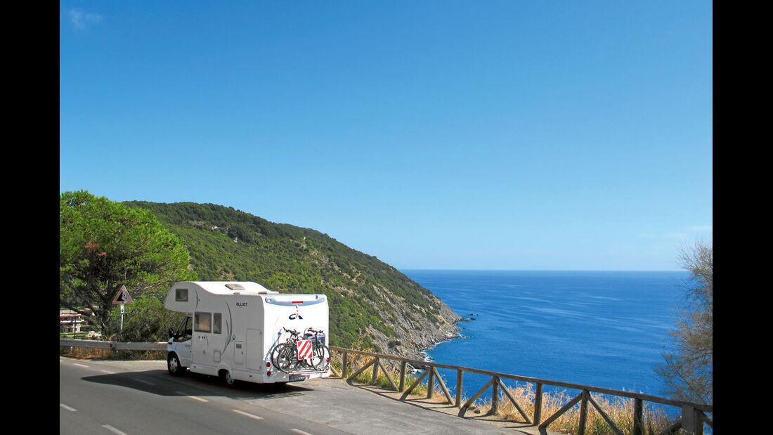 Ratgeber: Mobil-Tour Toskana, Küstenstraße
