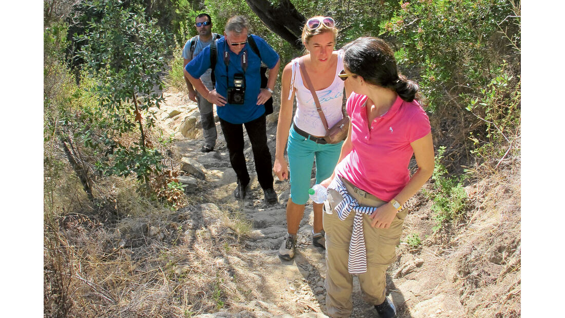 Ratgeber: Mobil-Tour Toskana, Steile Pfade