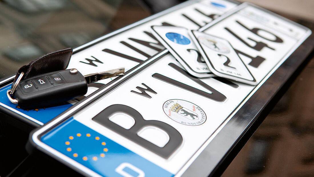 Ratgeber: Wechselkennzeichen