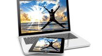 Ratgeber: Zubehör Urlaubsfotos speichern, Tablet, Laptop