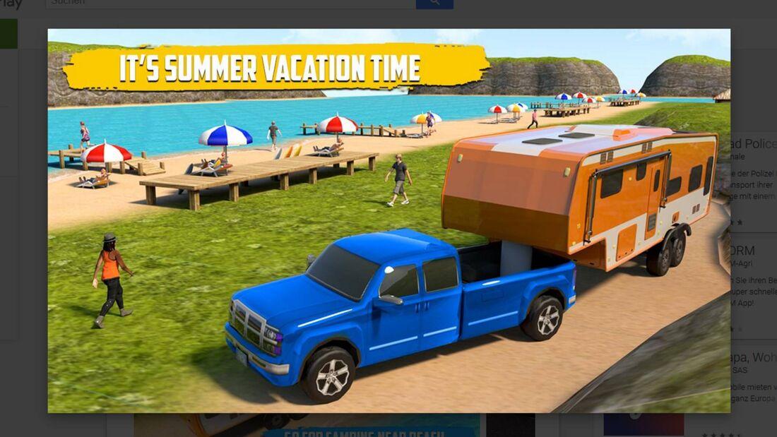 Real Camp Van Driving Simulator