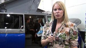 Redakteurin Anne Mandel stellt Spacecamper vor.