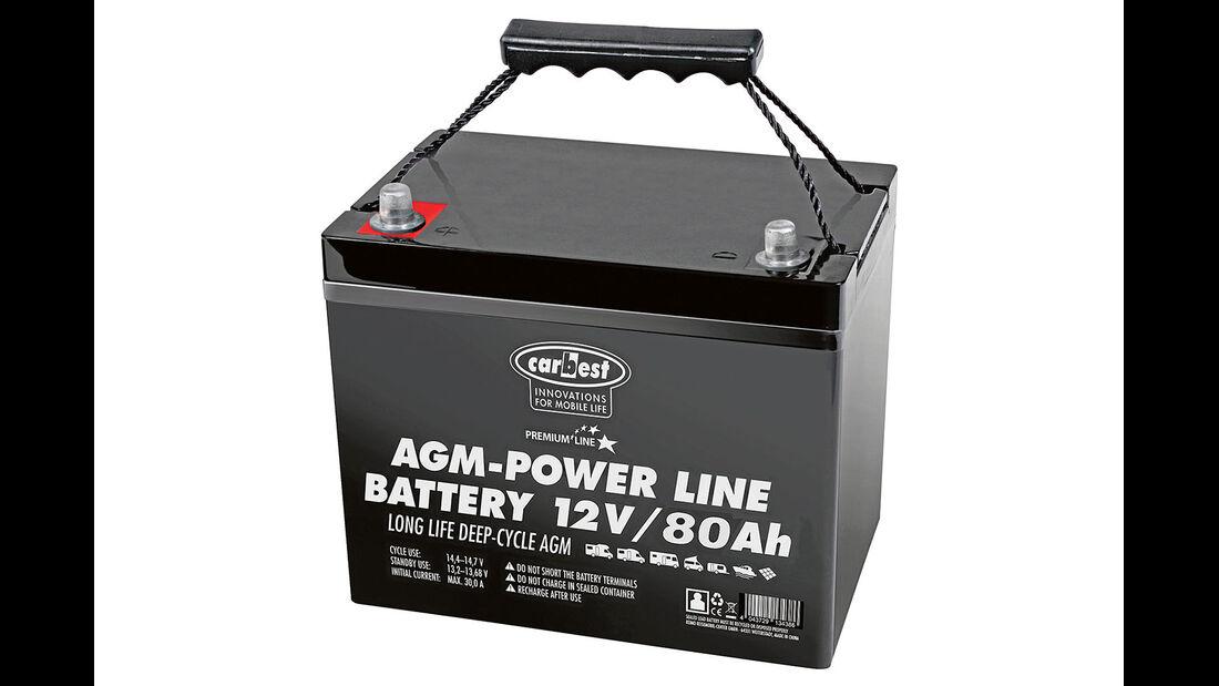 Reimo AGM Batterie 80Ah Carbest