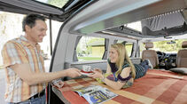 Reimo City Van/Spacecamper Light/VW California Beach, Vergleichstest