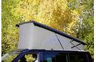 Reimo City Van/Spacecamper Light/VW California Beach, Vergleichstest