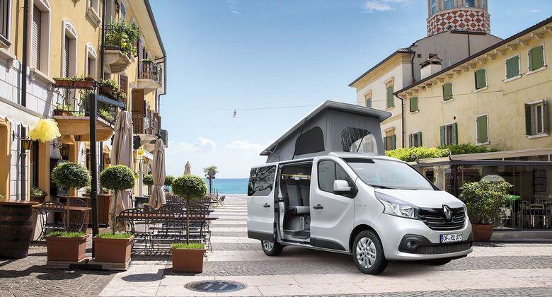 Reimo Trio Style 2016 Campingbus auf Renault Trafic