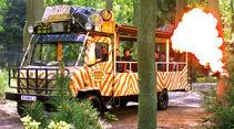 Reise-Service: Ausflugsziele, Serengeti-Bus