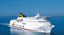 Reise-Service: Fähren Mittelmeer