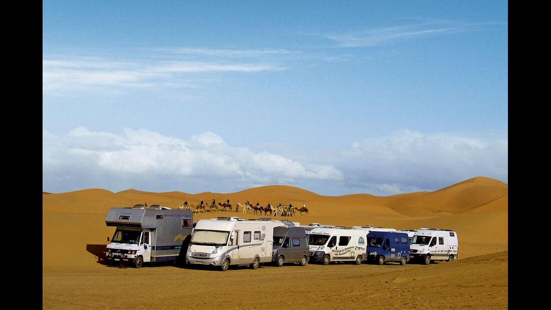 Reise-Service: Geführte Reisemobiltouren