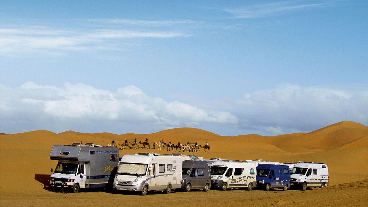 Geführte Wohnmobiltouren: Raus in die weite Welt  Promobil