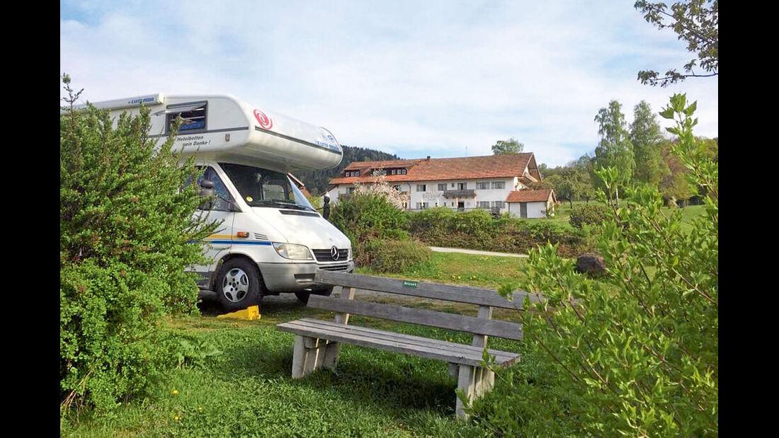 Reise-Service: Geniesserplätze, Bernried