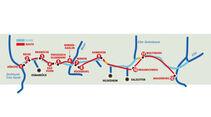 Reise-Service: Mittellandkanal, Karte