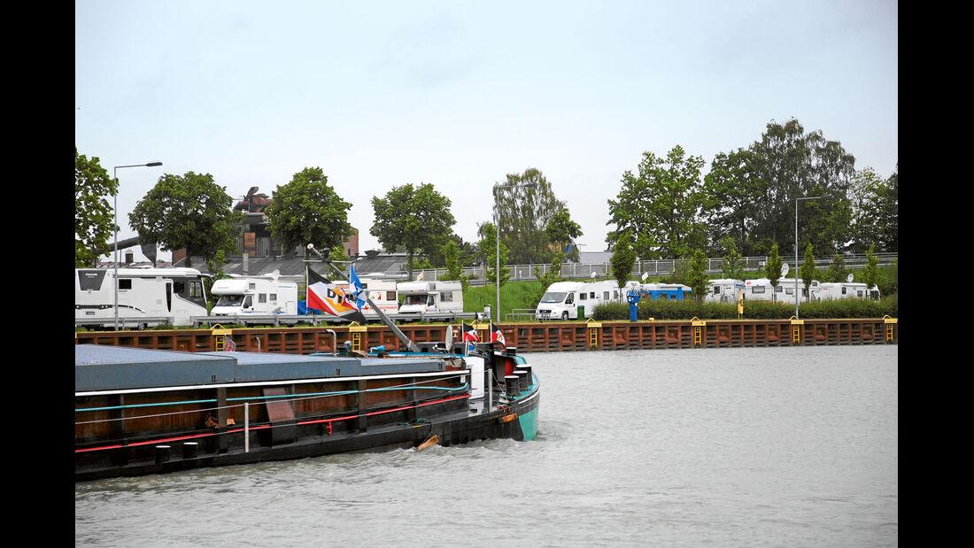 Reise-Service: Mittellandkanal, Riesenbeck