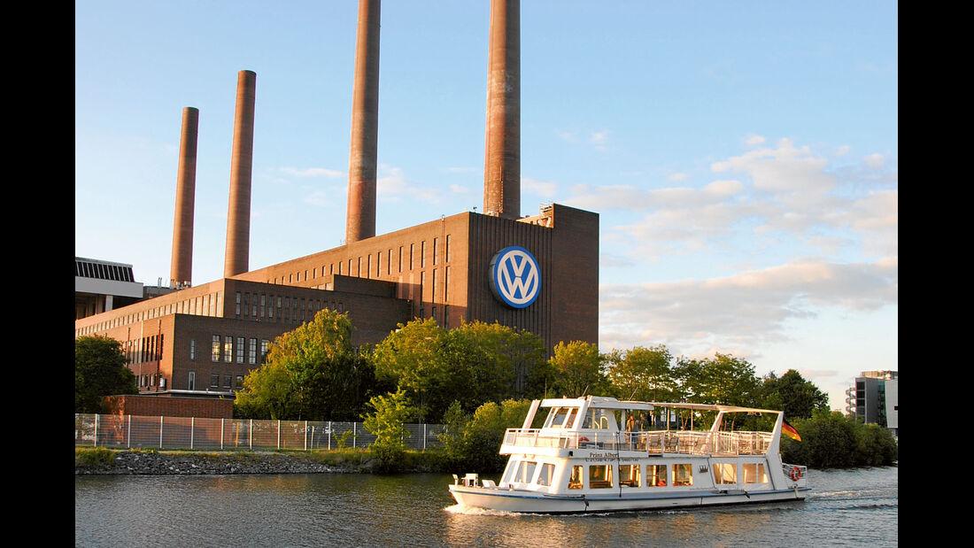 Reise-Service: Mittellandkanal, VW-Werk