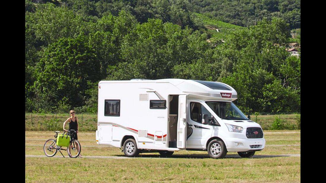 Reisemobil Challenger 277 Seitenansicht