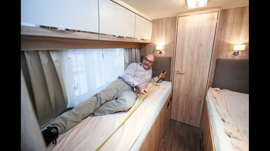 Reisemobil Eura Mobil Profila RS 730 mit unterschiedlichen Bettenlängen