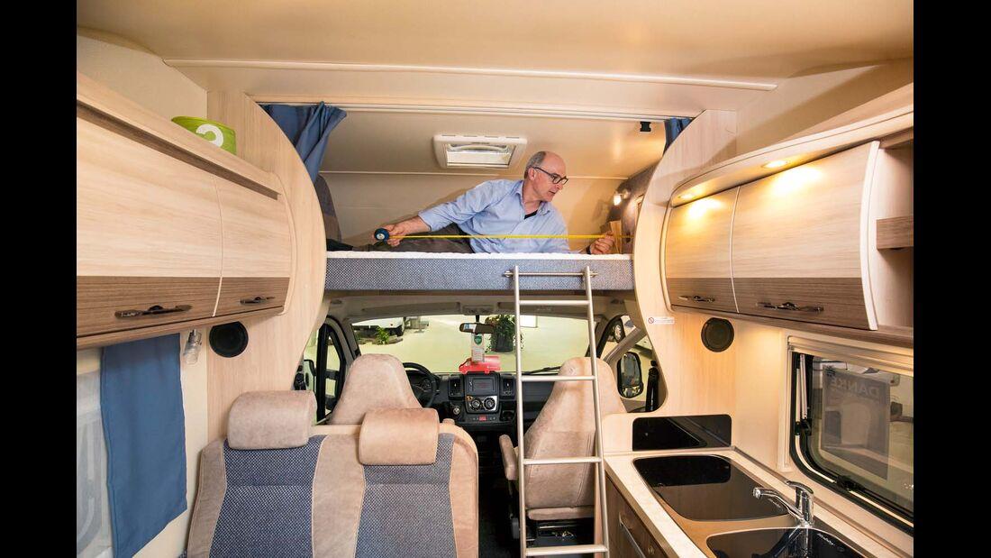 Reisemobil Hobby Siesta A 70 GM
