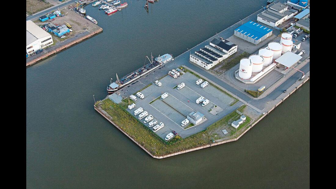 Reisemobil-Parkplatz Fischereihafen bremerhaven