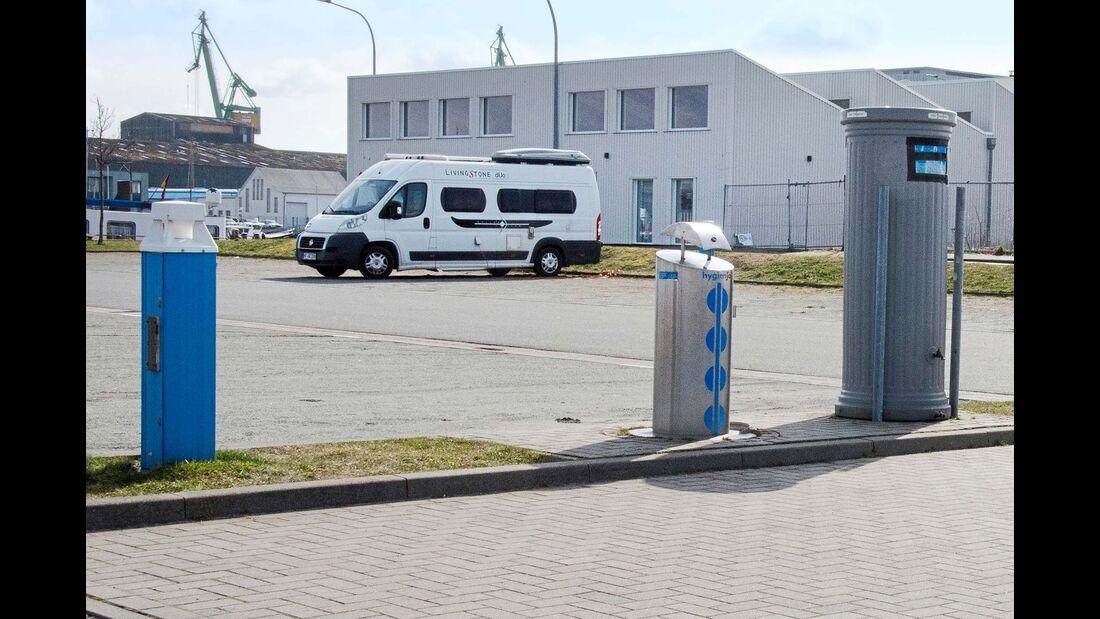 Reisemobil-Stellplatz Fischereihafen
