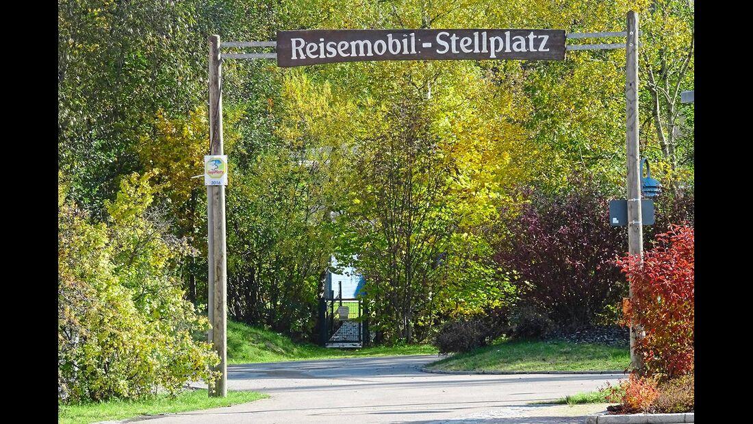 Reisemobil-Stellplatz an der Kirnach