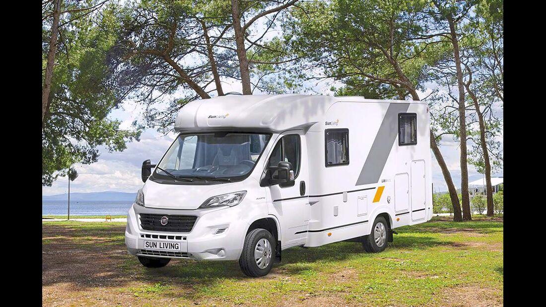 Reisemobil Sun Living Lido S 42SL  Seitenansicht